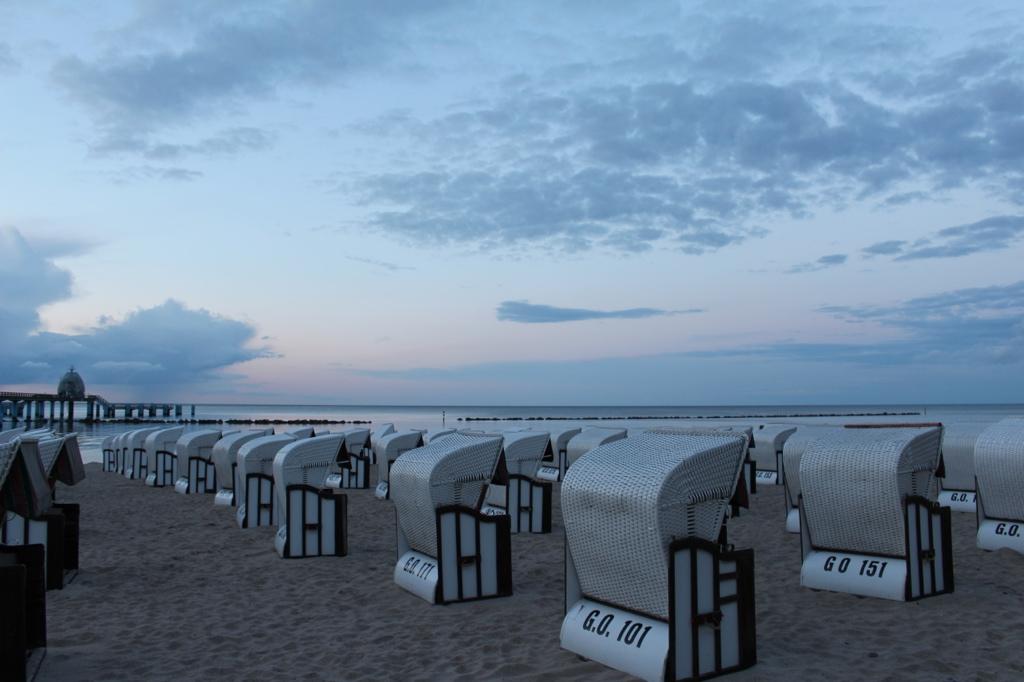 Insel Rügen Strandkörbe